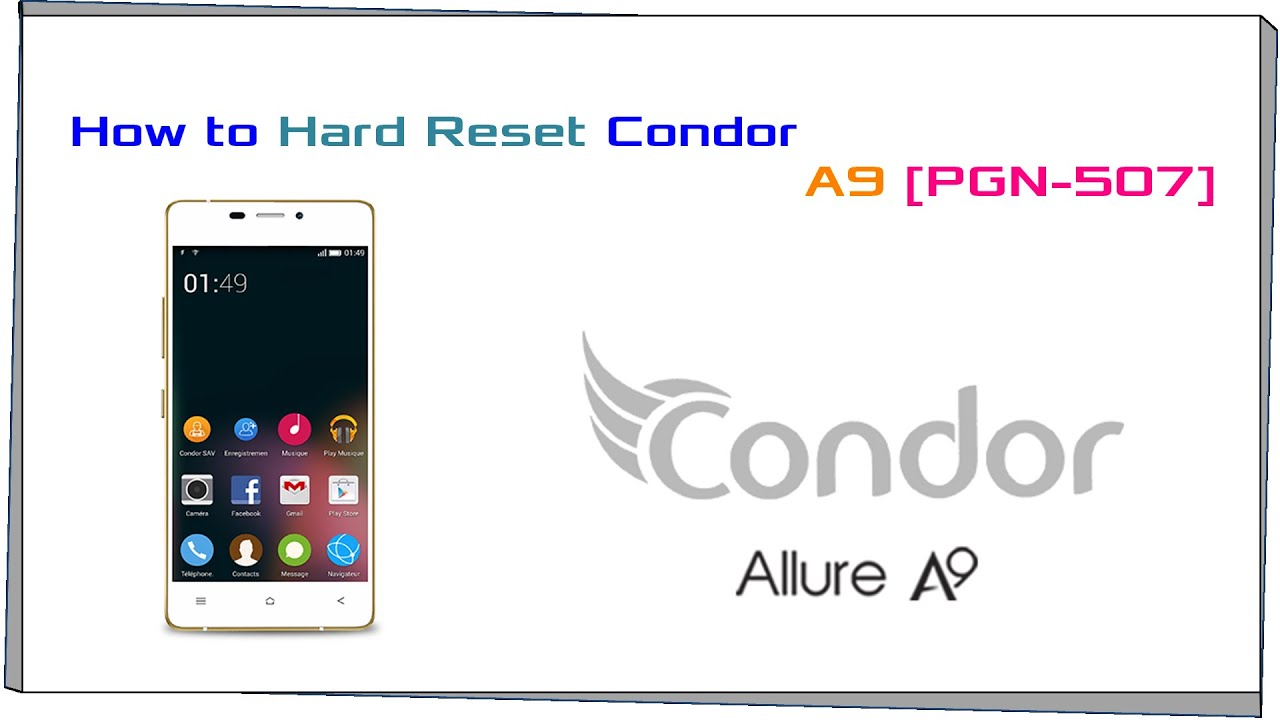 flash condor allure a9 plus