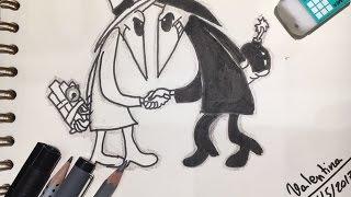 Draw~SPY VS SPY!