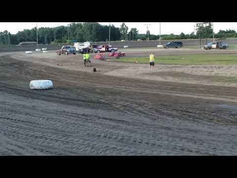 Ryan Read #25r mini wedge 8/2/19 @ I-96 speedway Heat Race