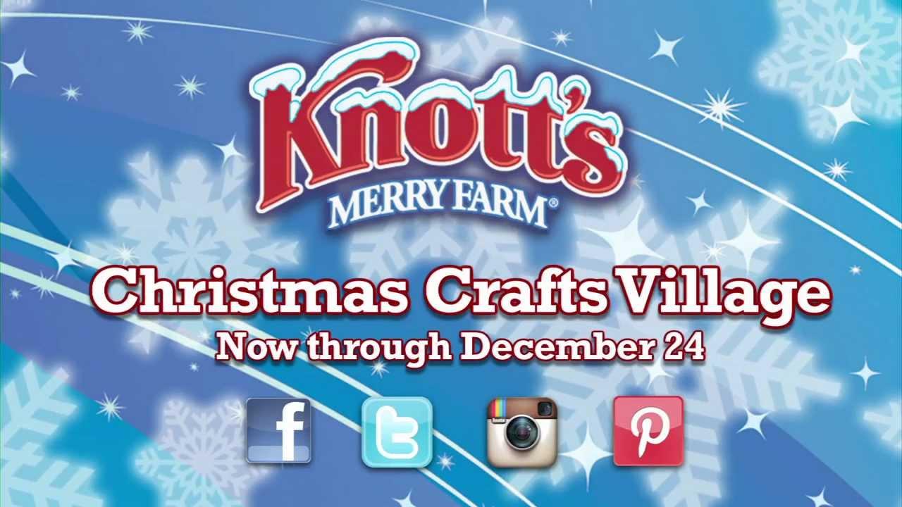 Knott Christmas Craft Village 2020 Christmas Crafts Village at Knott's   YouTube
