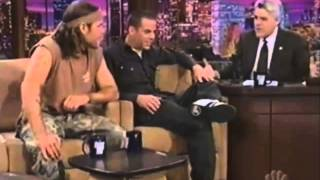 Steve-O and Chris Pontius On The Jay Leno Show (2005)
