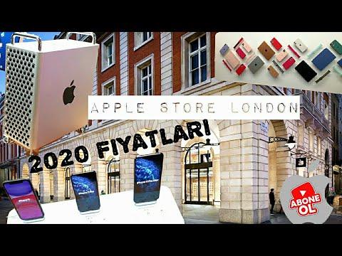 2020 YURTDIŞI APPLE STORE FİYATLARI İNGİLTERE IPHONE MACBOOK WATCH IPAD | LONDON APPLE STORE PRICES