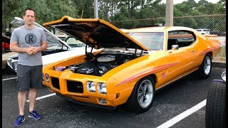 Is the 1970 Pontiac GTO Judge the GREATEST Muscle Car EVER? - Raiti's Rides