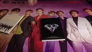 Unboxing EXO 5th Repackage Album LOVE SHOT Love amp Shot Ver.