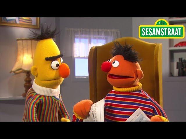 Bert probeert boodschappen te doen - Bert & Ernie - Sesamstraat