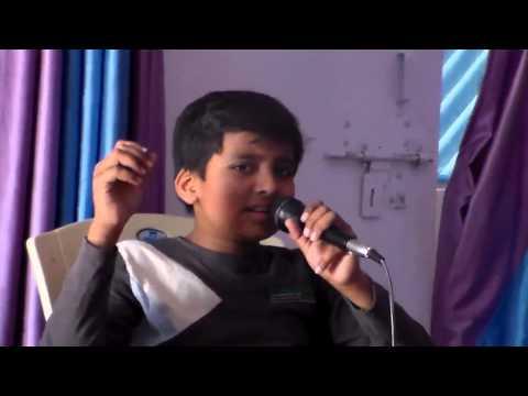sankalp kushwaha singing a song main shayar badnaam