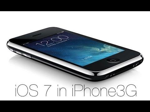 iPhone3GにiOS 7を入れてみた Whited00r 7