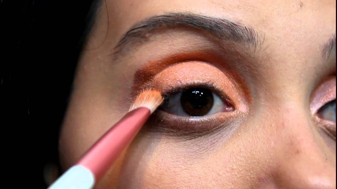 5fe62dbc44 Tutorial de Maquiagem: Laranja Suave - Pink Gloss