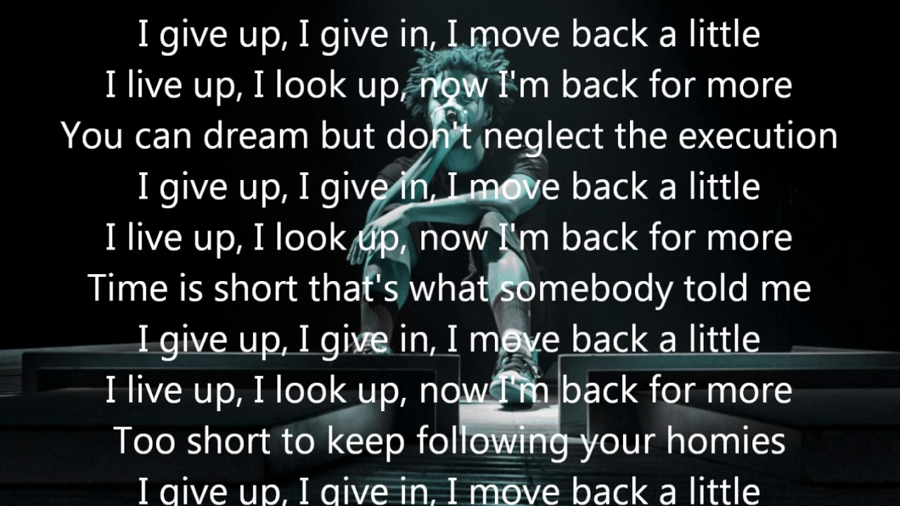 J. Cole - Change - Lyrics