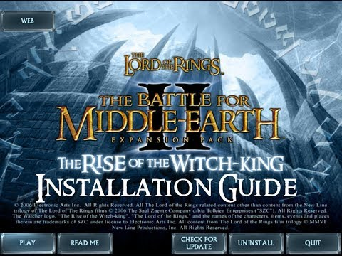 [The Lord Of The Rings: The Battle For Middle-earth II, The Rise Of The Witch-King] - Installation G