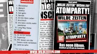 WILDE ZEITEN - Atomparty (Official Snippet)