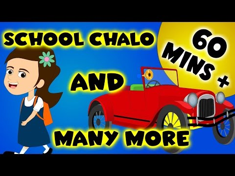 School Chalo And Many More | 60 Minutes + Compilation | Urdu Rhymes Collection