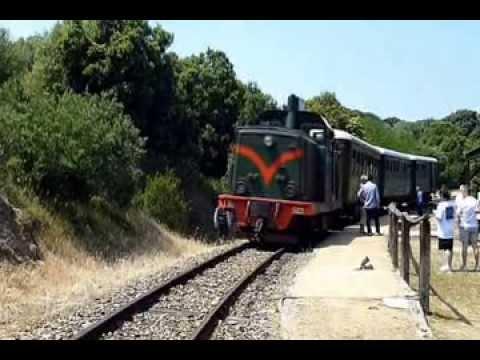 Il Trenino Verde della Sardegna  linea Tempio - Palau