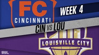 FC Cincinnati vs Louisville City FC: April 7, 2018