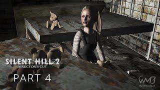 Silent Hill 2 - Flesh Lips Boss Fight / Brookhaven Hospital - Walkthrough Part 4 (Hard)