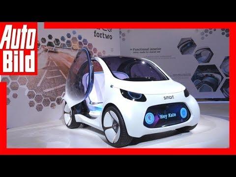 Smart Vision Eq Fortwo 2020 Vorstellungdetailserklärung