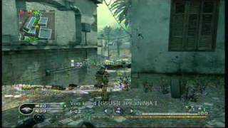 Call of Duty 4 Camper's Team Deathmatch 9 (W1200 Is Wicked)