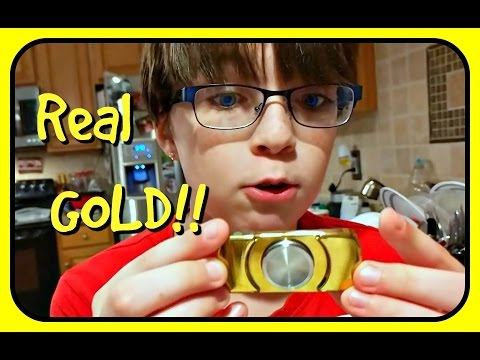 More GOLD Fidget Spinners!! Best One Yet!