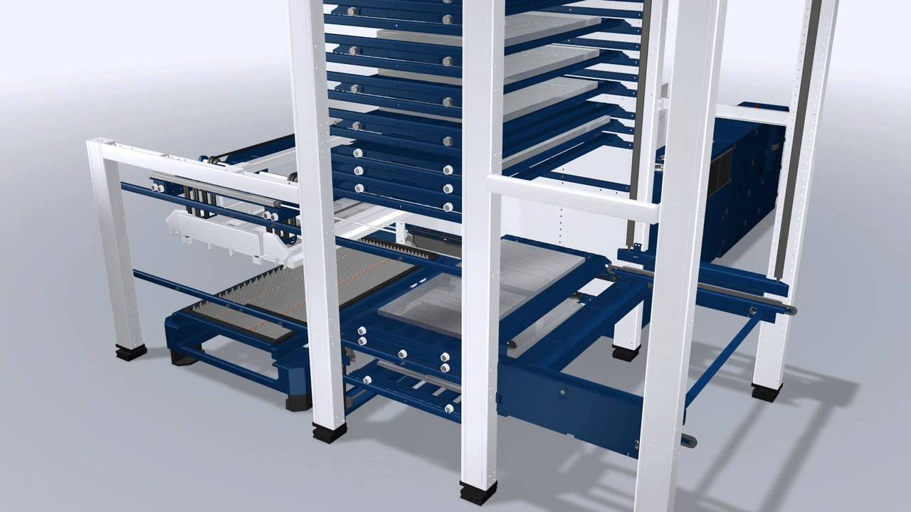 TRUMPF LiftMaster Compact- Automatic Loading and Unloading ...