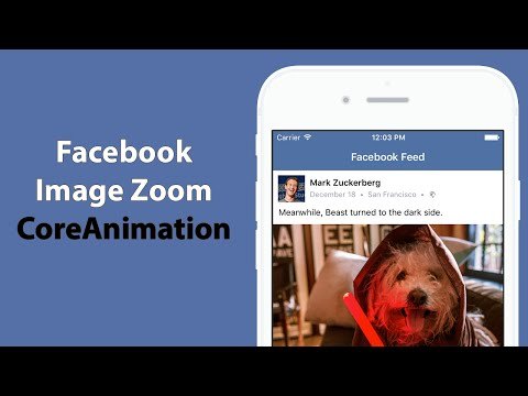 Swift: Create Facebook's Image Zooming Animation using Core Animation