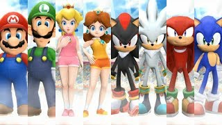 Mario and Sonic at the London 2012 Olympic Games - All Characters