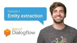 Dialogflow Entities: Identify things your users mention [Basics 2/3]