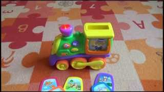 Dumel Discovery, mój pierwszy pociąg, zabawka edukacyjna