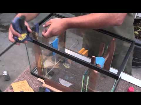 How to build a refugium step by step diy youtube for Acrylic fish tank diy