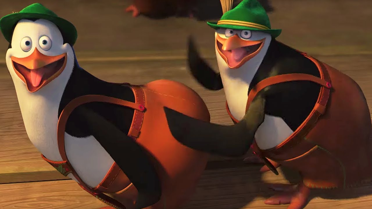 Dreamworks Madagascar Penguin Slap Dance Penguins Of Madagascar Kids Movies Youtube
