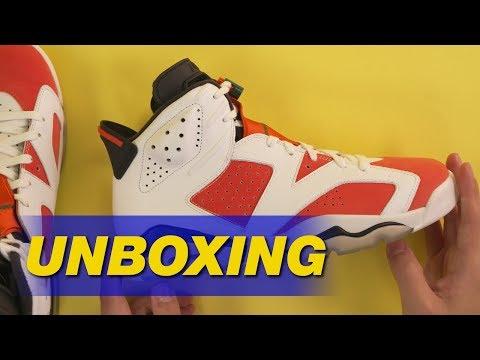 "Air Jordan 6 ""Gatorade"" | Unboxing"