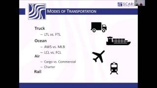 Import Process:  Purchase Order to Origin Port and Incoterms