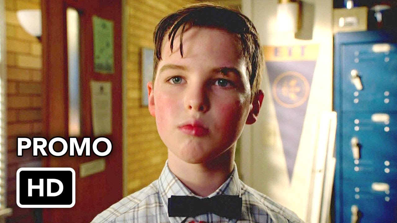 """Download Young Sheldon 4x06 Promo """"Freshman Orientation and the Inventor of the Zipper"""" (HD)"""