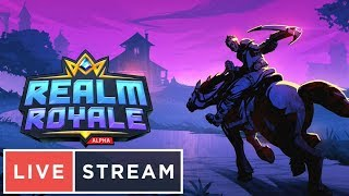 Melhor que Fortnite REALM ROYALE BATTLEGROUNDS