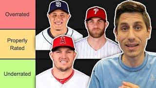 MLB PLAYERS OVERRATED OR UNDERRATED? thumbnail
