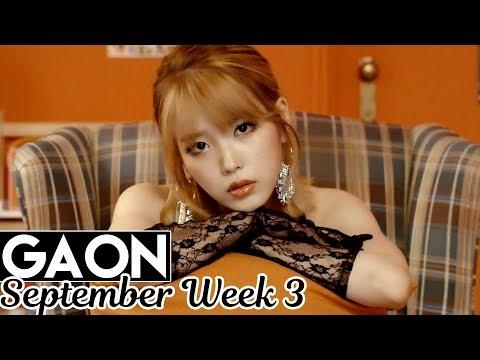 [TOP 100] Gaon Kpop Chart 2017 [Sep Week 3]