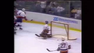 Bryan Trottier's Final Game with the Islanders