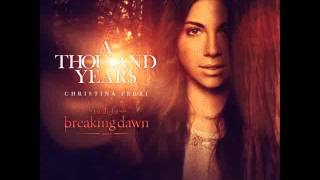 CHRISTINA PERRI Feat. STEVE KAZEE - A Thousand Years (NEW VERSION)