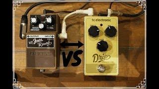 TC Electronic Drip spring reverb VS Boss '63 Fender reverb