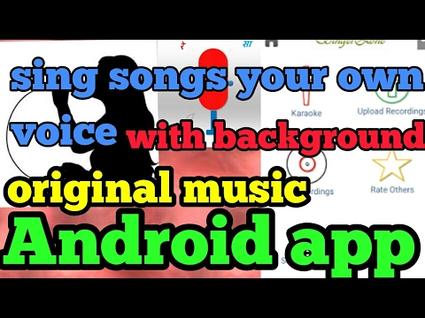 [Hindi ] best singing app   sing a song   android .
