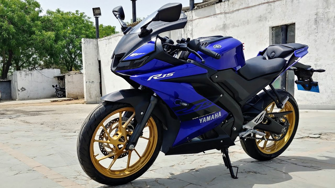 Yamaha R15 V3 Carbon Fibre Wrap In India: Here's How I Did It