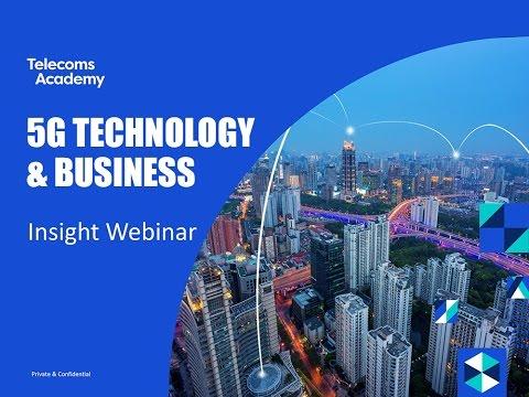 5G Technologies and Business Insight Webinar (September 2016)