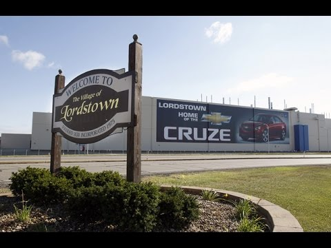 Chevy Cruze Factory in Lordstown Highlights GM's Green Technology