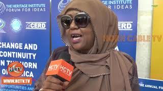 DJIBOUTI : Shirkii Soomaalidu kaga Hadlayeen Mawjadaha Isbedel ee Geeska Africa.