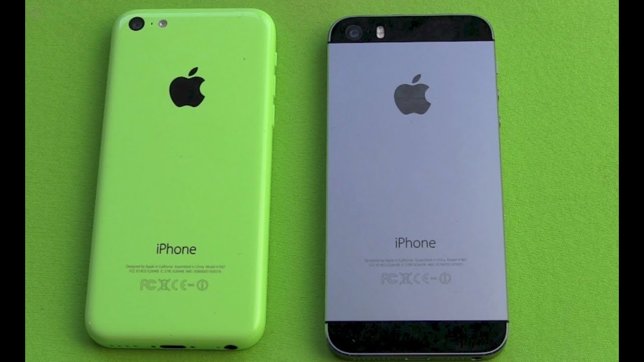 Iphone 5s Vergleich Iphone 5c