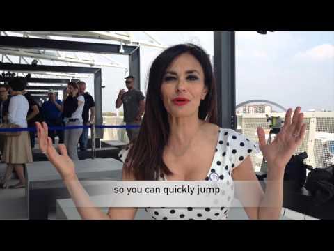 Maria Grazia Cucinotta / A good reason to visit Expo2015