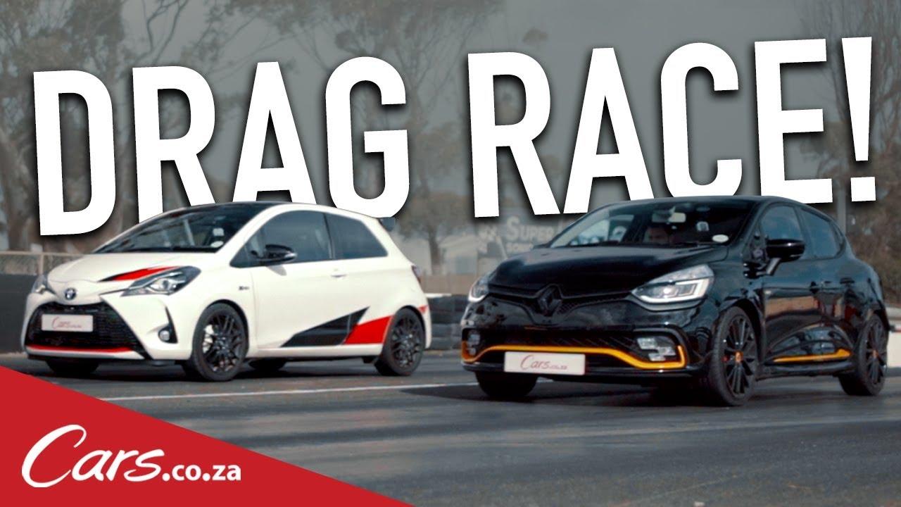 Drag Race Toyota Yaris Grmn Vs Renault Clio Rs 18