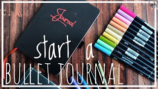Perfekter Start für DEIN BULLET JOURNAL mit PILOT-Kreativ   produkte und Essentials   ♥ANNA KAISER♥