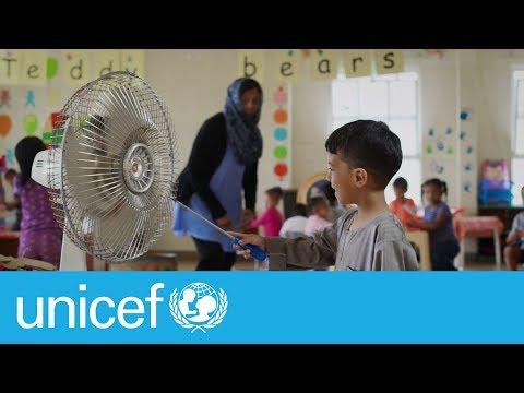 How far do you go to keep your children safe?   UNICEF