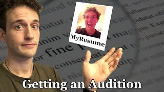 How to Audition: Getting an Audition as a Classical Musician.