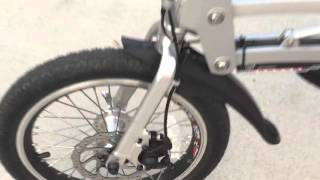 Electric XB-200Li E-Bike - Super Folding Electric Bicycle (Aluminum) Part 2